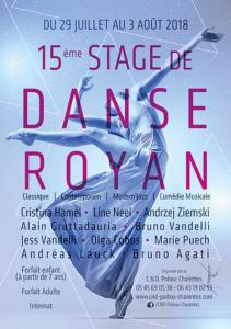 Stage de danse de Royan